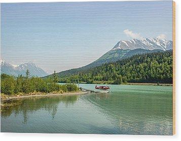 Moose Pass In Alaska Wood Print