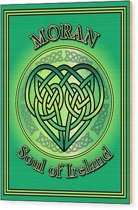 Moran Soul Of Ireland Wood Print by Ireland Calling