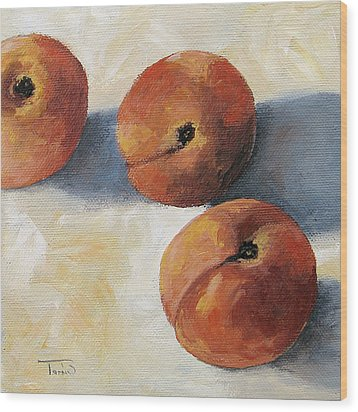 More Georgia Peaches Wood Print