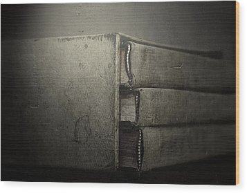 More Than Words Wood Print by Mark  Ross