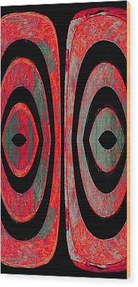 More Untitled 1a Wood Print by Bruce Iorio