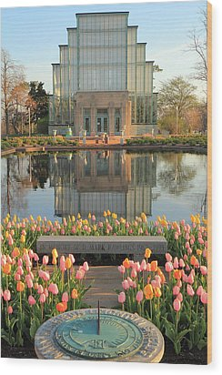 Morning At The Jewel Box Wood Print by Scott Rackers