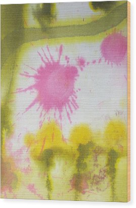 Morning Has Broken Wood Print by Malinda Kopec