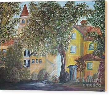 Morning In The Old Country Wood Print by Eloise Schneider