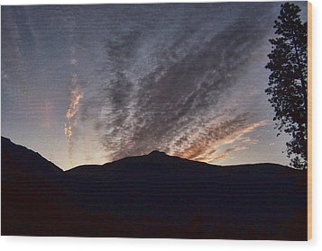 Morning Light Wood Print by Ron Roberts