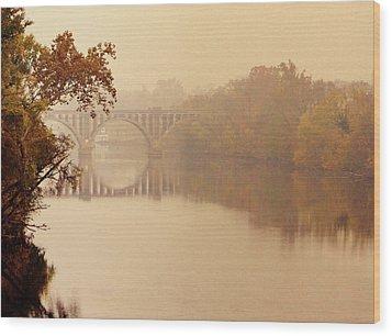 Morning Passage Wood Print