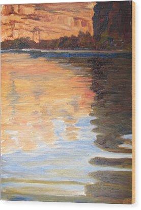 Morning Reflections Wood Print