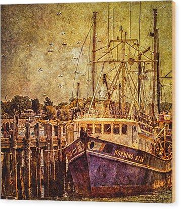 Morning Star Wood Print by Bob Orsillo