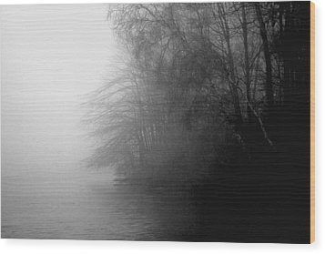 Morning Stillness Wood Print