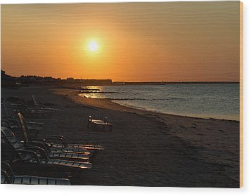 Wood Print featuring the photograph Morning Sunrise Over The Cape by John Hoey