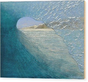 Morning View Wood Print by Nathan Ledyard