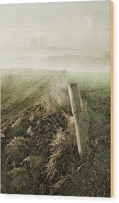 Morning Watch Wood Print by manhART