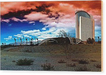 Morongo Casino Wood Print