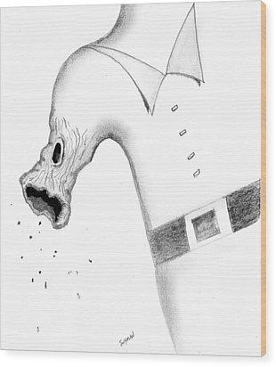 Morphing Wood Print by Dan Twyman