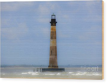 Wood Print featuring the photograph Sand Sea And Whimsey by Dale Powell