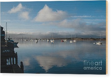 Morro Bay - 2433 Wood Print