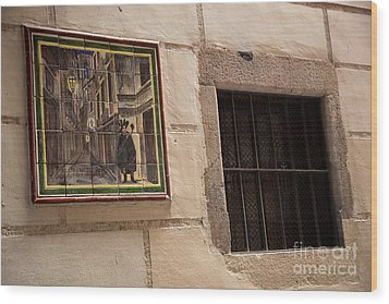 Mosaic Window Wood Print by Rene Triay Photography
