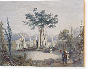 Mosque Of Goolaum Hoossein Huzrut-jee Wood Print by James Rattray