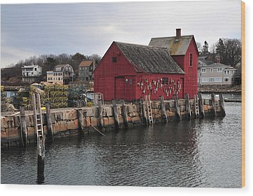 Motif # 1 Wood Print by Mike Martin