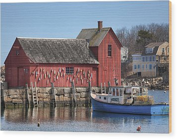 Motif Number 1 Wood Print by Eric Gendron