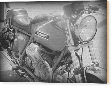Moto Guzzi I Wood Print