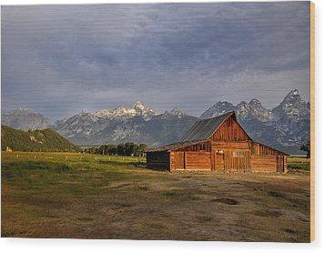 Moulton's Barn Wood Print by Rob Hemphill