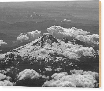 Wood Print featuring the photograph Mount Baker by Inge Riis McDonald