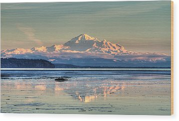 Mount Baker North Cascades National Park Wood Print by Pierre Leclerc Photography