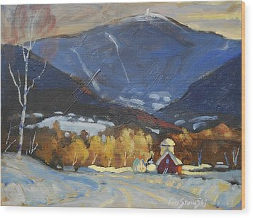 Mount Greylock From Williamstown Wood Print