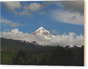 Mount Hood Oregon Wood Print