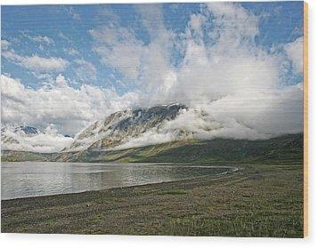 Mount Kaputyat Wood Print