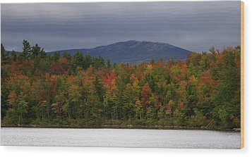Mount Monadnock Fall 2013 View 2 Wood Print by Lois Lepisto
