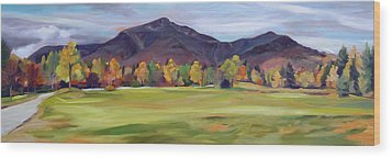 Mount Osceola New Hampshire Wood Print by Nancy Griswold