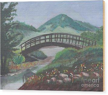 Mount Otis Wood Print