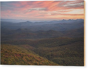 Wood Print featuring the photograph Mountain Color by Serge Skiba