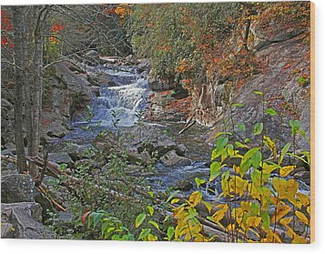 Mountain Splendor Wood Print by HH Photography of Florida
