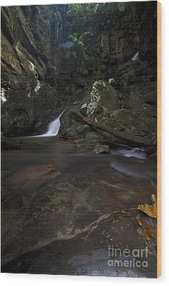 Wood Print featuring the photograph Mountain Waters. by Gary Bridger