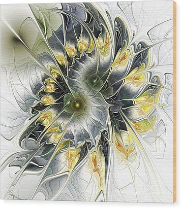 Movement Wood Print by Anastasiya Malakhova
