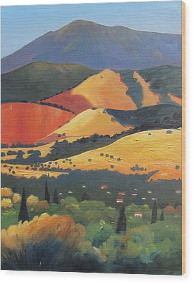 Mt. Diablo 1 Wood Print