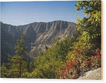 Mt. Katahdin From Hamlin Ridge Wood Print