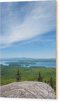 Mt Major View Wood Print by Sharon Seaward
