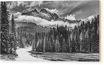 Mt Sneffels Wood Print