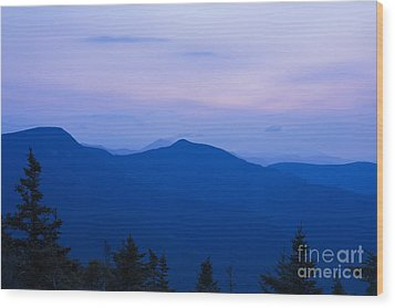 Mt Tecumseh - Waterville Valley New Hampshire Usa Wood Print