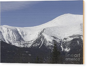 Mt Washington And Tuckerman's Ravine Wood Print