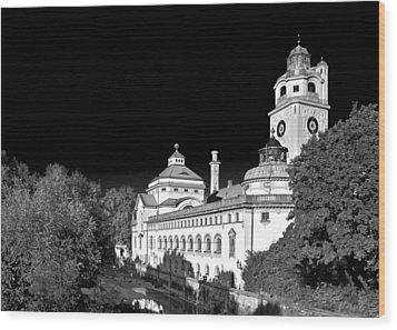 Mueller'sches Volksbad - Munich Germany Wood Print by Christine Till