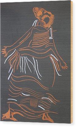Muganda Lady - Uganda Wood Print