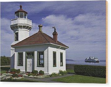 Mukilteo Lighthouse Wood Print