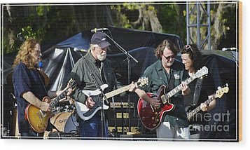 Mule And Widespread Panic - Wanee 2013 1 Wood Print