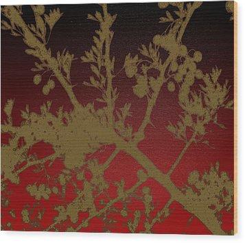 Mullberry Bush Wood Print