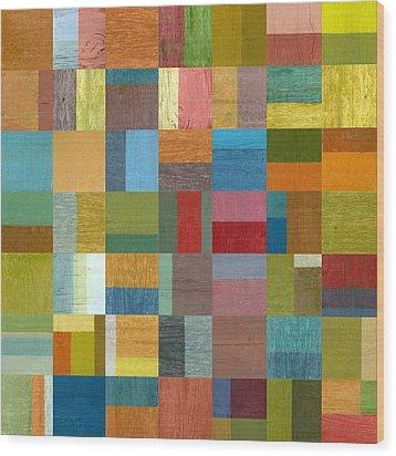 Multiple Exposures Ll Wood Print by Michelle Calkins